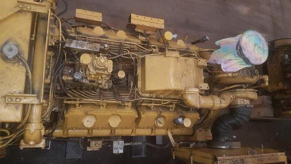 Caterpillar 3412DITA-624hp Propulsion Engine - MEG4625