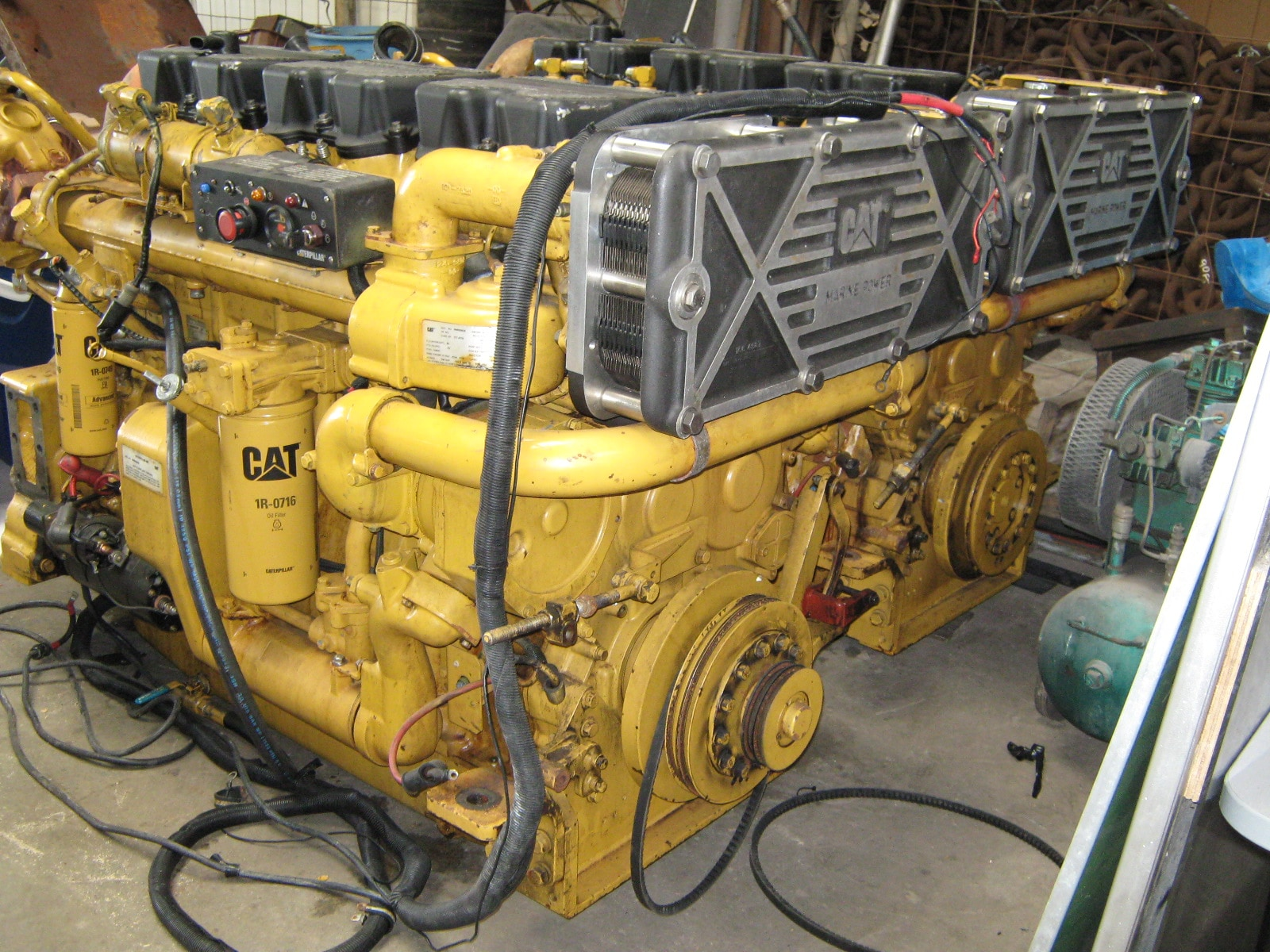 Caterpillar 3406E Marine Engine-800hp Pair - MEG4610
