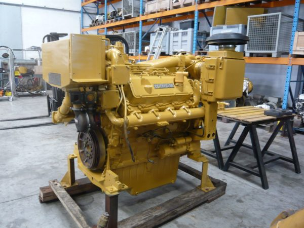 Caterpillar 3408C DITA Marine Propulsion Engine Rebuilt, 480hp @1800 Rebuilt - MEG4588