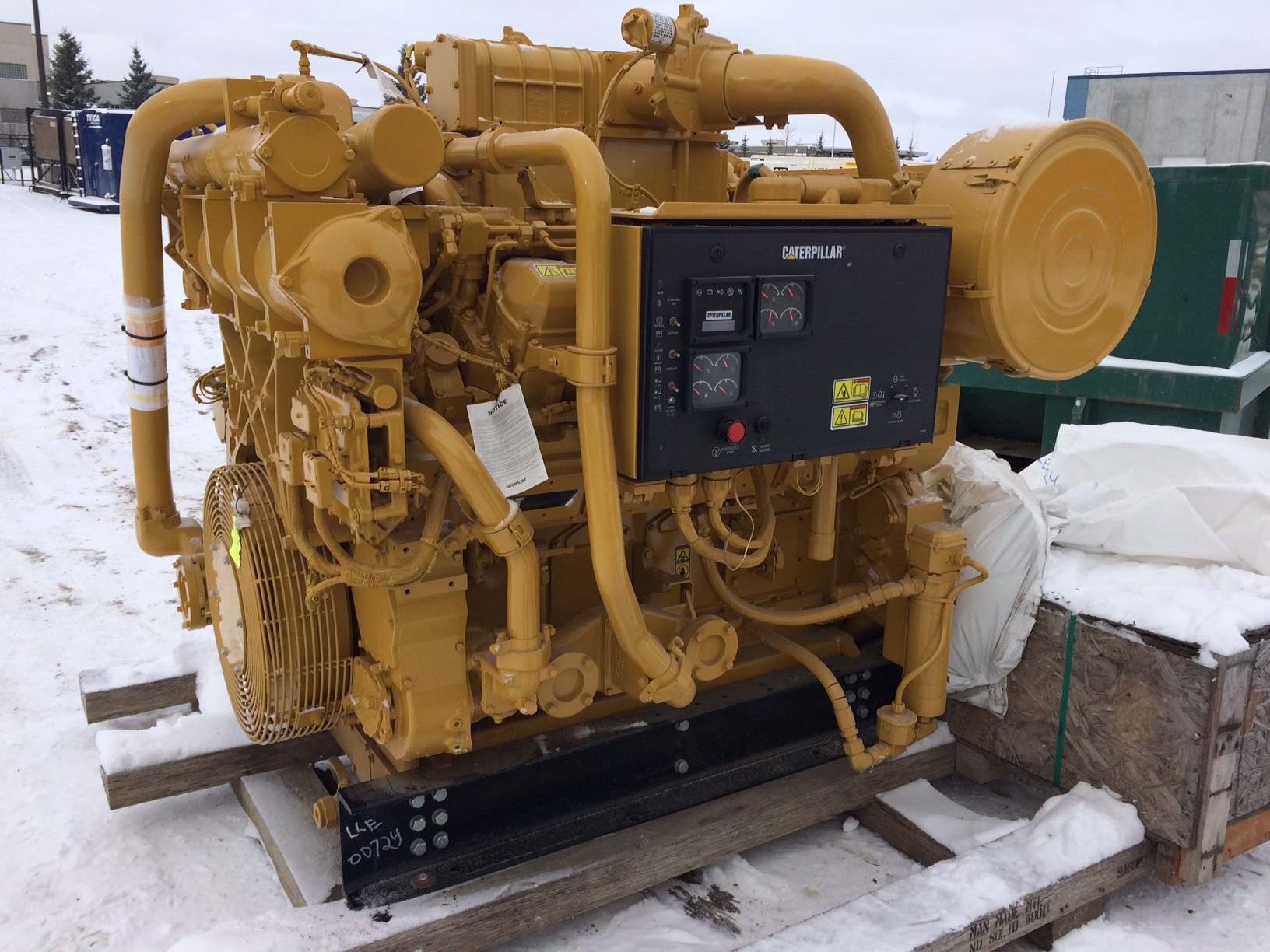 Caterpillar 3508C Industrial Engine-1200rpm - IEG2273