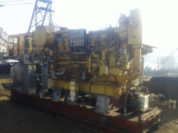 Caterpillar 3512DITA with Hydraulic Pump - MEG4565