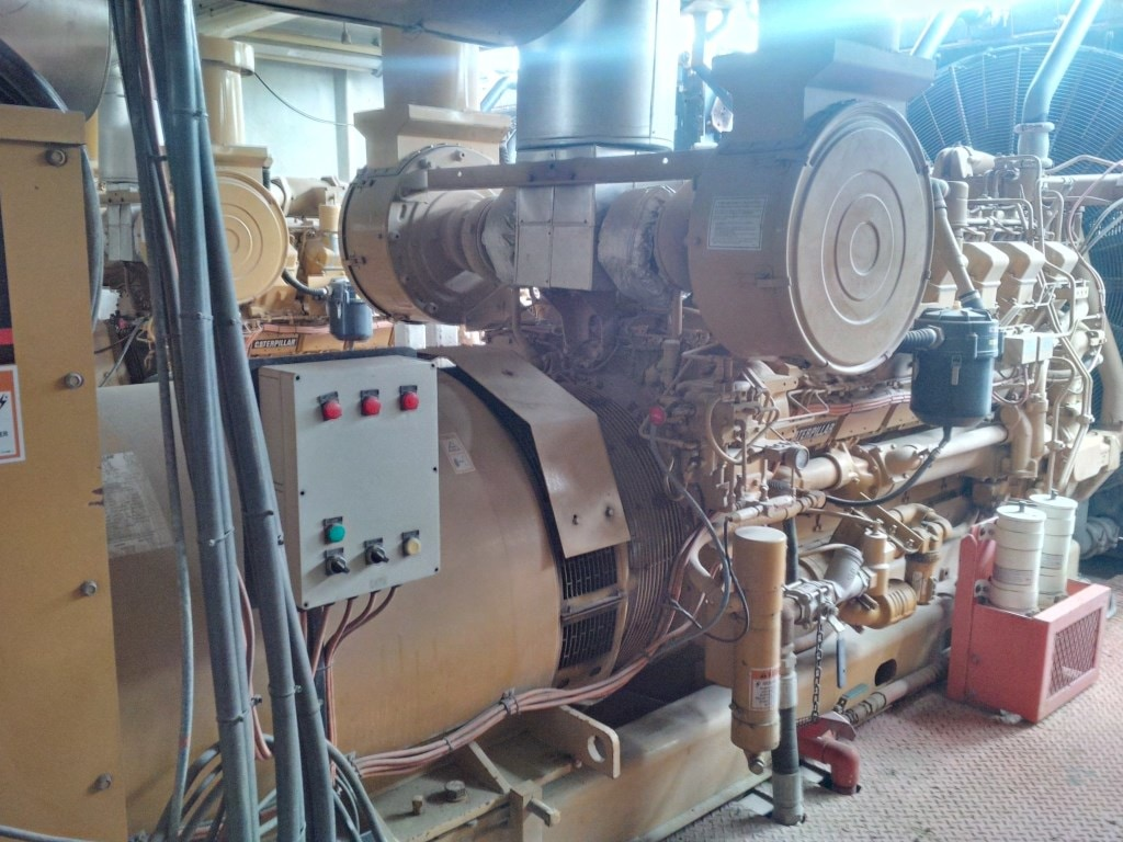 Caterpillar 3512 Land Rig Drilling Genset-600v - IEG2232