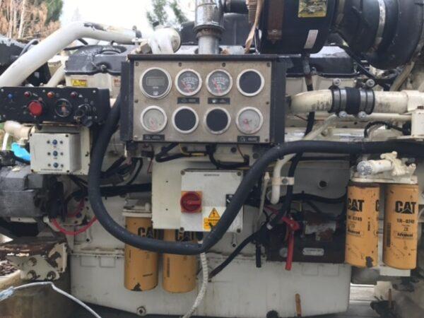 Caterpillar C32 with ZF2050A gears 2:1 - MEG4520