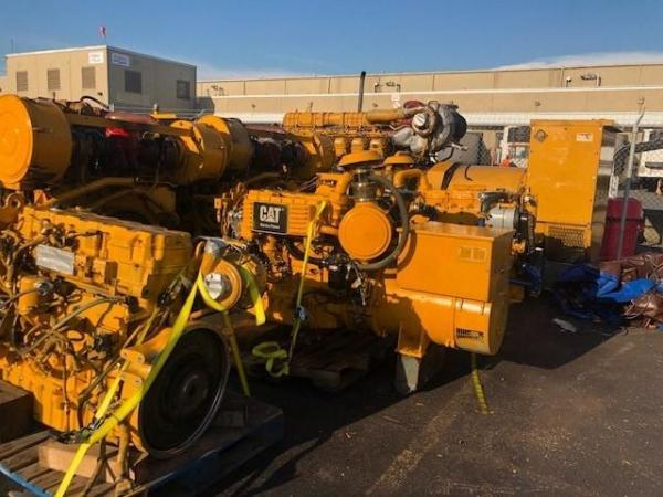 Caterpillar C9 marine engine 361HP - MEG4613