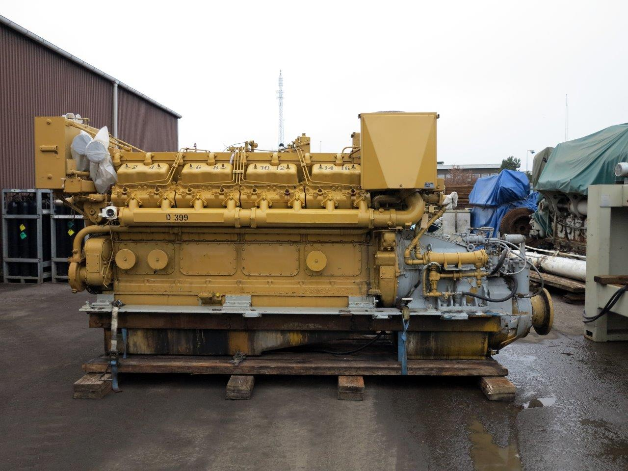 Caterpillar D399 Marine Engine - MEG4498