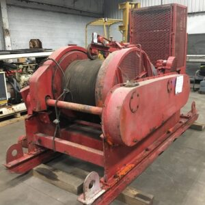 Amclyde Frame 7 Single Drum Winch - M4226