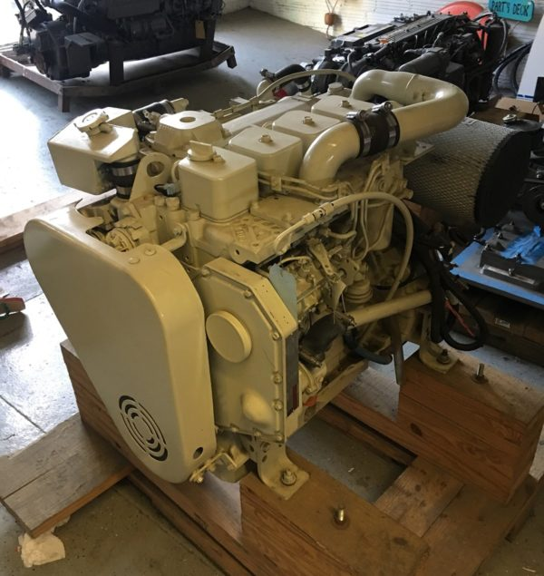 Cummins 4BT Marine Propulsion Engine, ReCon, 155hp @2800rpm - MEG4547