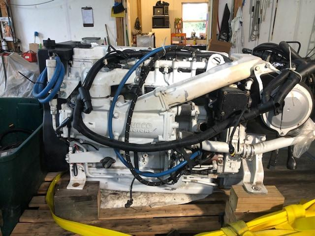 Cummins Iveco 6bta 5 9l 370hp Pair Meg4616 Mymarinetracker