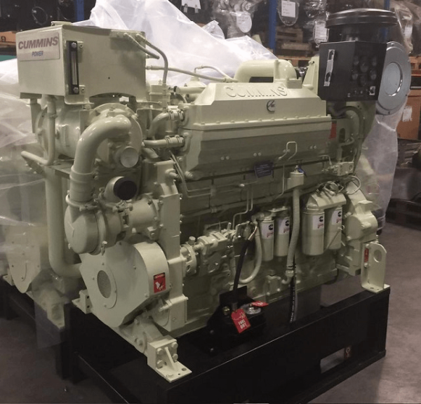 Cummins KTA19 Marine Engine ReCon - MEG4573