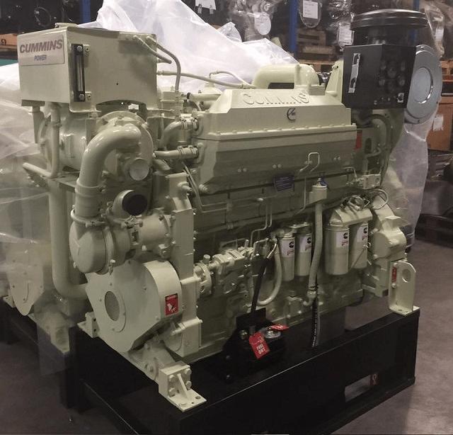 Cummins KTA19 Marine Engine ReCon - MEG4573