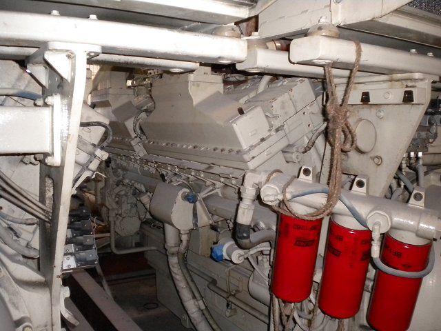Cummins QSK60 Marine Engine - MEG4076