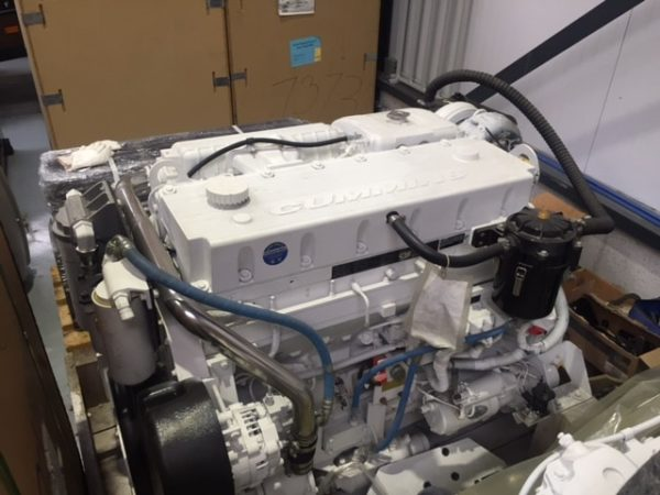 Cummins QSM11-660hp Marine Engine Rebuilt Pair - MEG4552