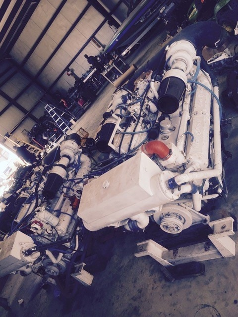 Detroit Diesel 12V92TA-900hp Engine Pair - MEG4607