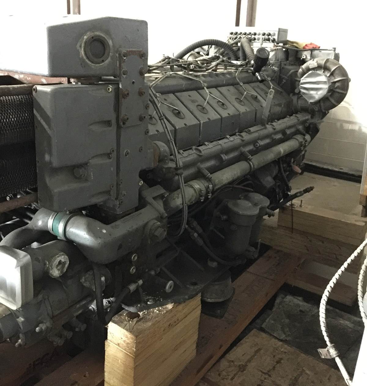 Deutz MWM TBD616 V16 Propulsion Engine Pair - MEG4553