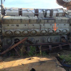 EMD 16-645E7 Engine Pair -MEG4518
