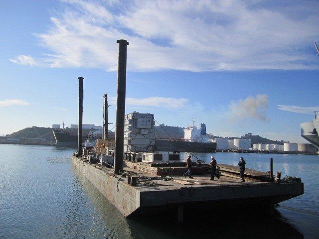 Kaiser Steel ABS Spud Barge Marine Vessels - MV2009
