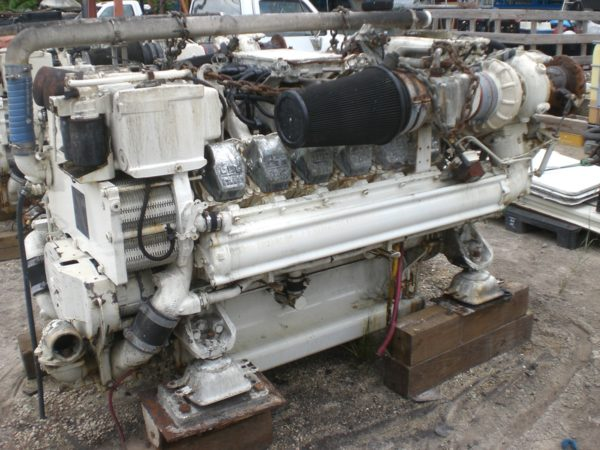 MTU Engine 12V2000M91 Pair - MEG4438