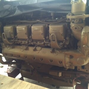 MTU 8V331-TC82 Engine - MEG4556