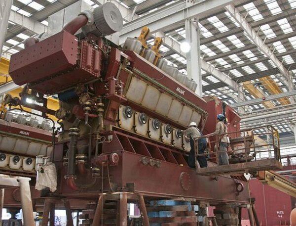 Mak 12M32C Marine Engine - MEG4231