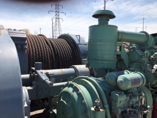 Markey Machinery TDS-32, 60-Ton Towing Winch - M4218