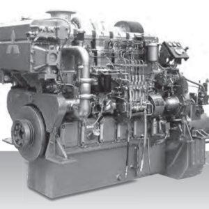 Mitsubishi S6R2-T2MTK3L 927hp Marine Engine - MEG4535