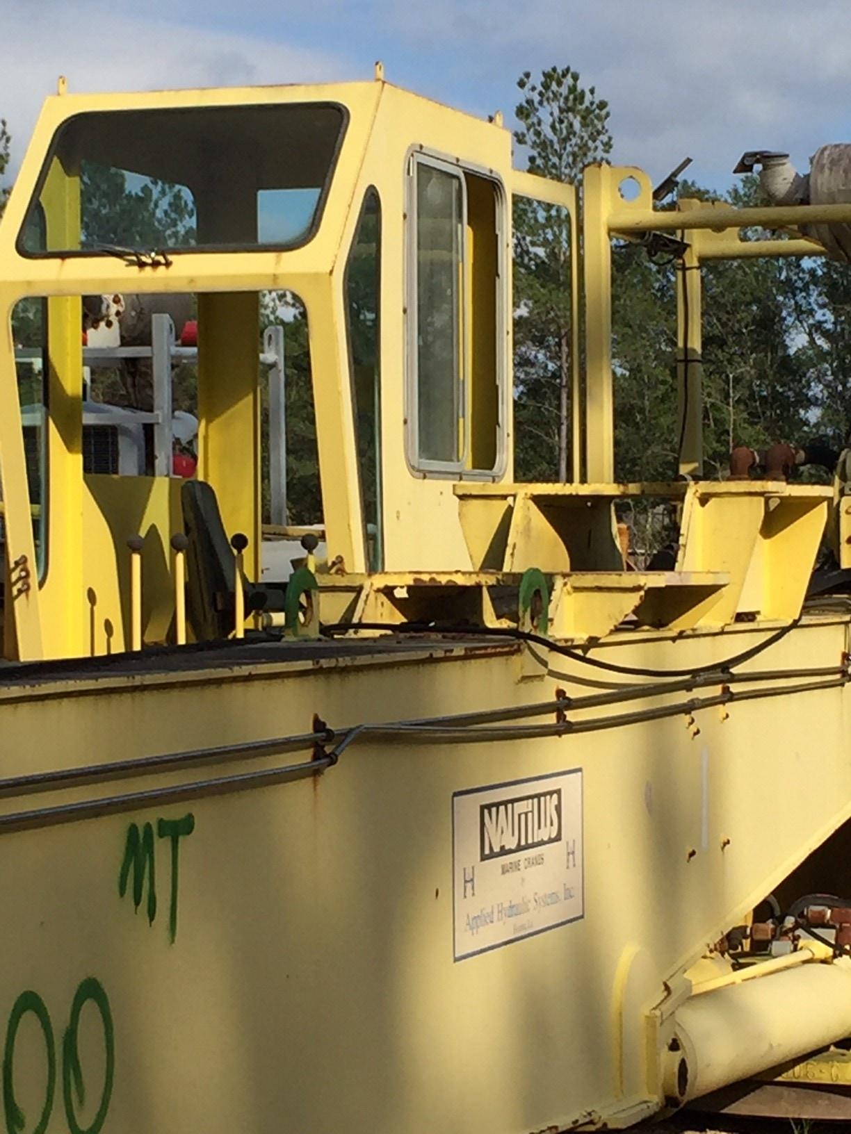 Nautilus 60BA-50 Box Boom Crane -C2034
