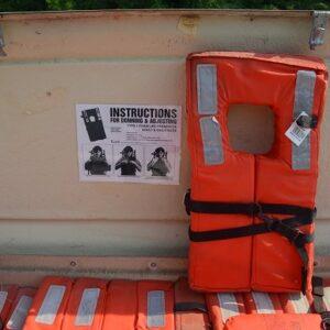 Safeguard Commercial Life Jacket - M2045