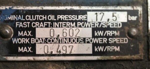 ZF BW450-1 Gears 2.5:1 Pair -T2130