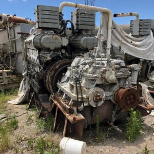 EMD 12-645E2 w/4:1 Gears Pair-MEG4755