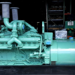 Detroit Diesel 16V71T Generator Set 520KW-IEG2313