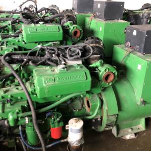 John Deere 6068 160kw Marine Generators-MEG4814