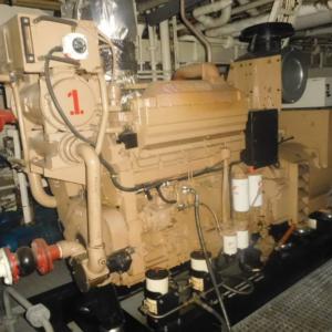 Cummins K19-M Marine Gensets 515KW (2)-MEG4819