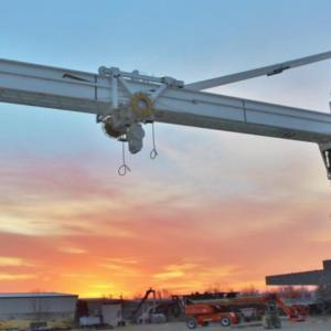 Appleton TC2500 Pedestal Crane-C2101